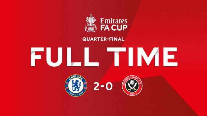 Hasil Chelsea vs Sheffield United FA Cup