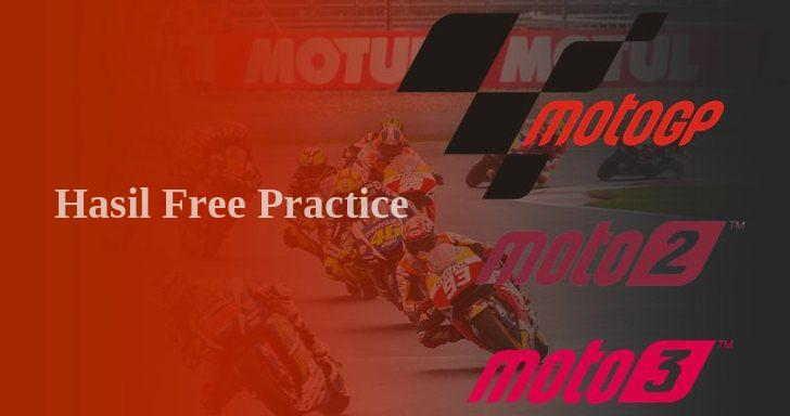 Hasil FP1 Moto2 Qatar