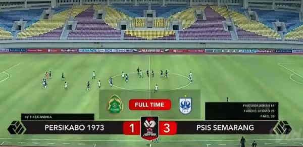Hasil Persikabo 1973 vs PSIS Semarang