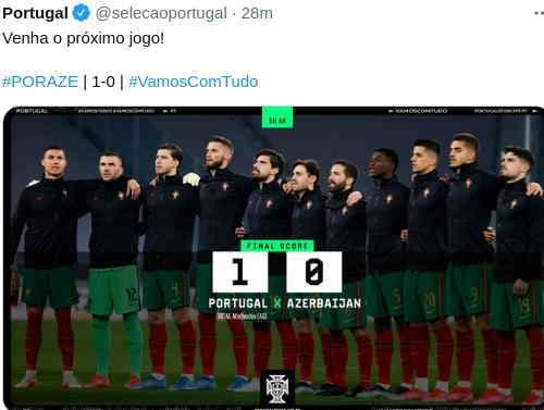 Hasil Portugal vs Azerbaijan