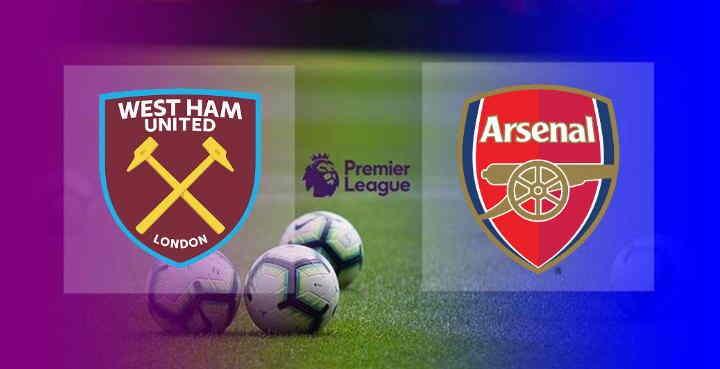 Hasil West Ham vs Arsenal