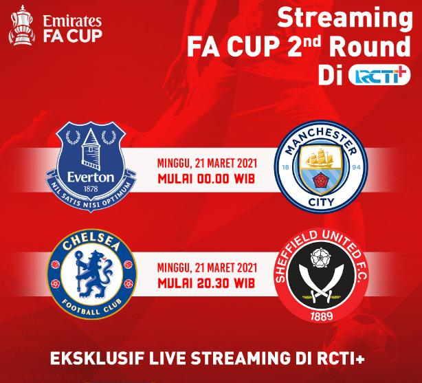 Jadwal FA Cup Live RCTI