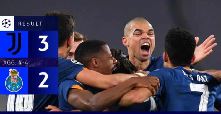 C Porto Lolos ke Babak Perempat Final Liga Champions