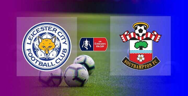 Hasil Leicester City vs Southampton Semifinal FA Cup