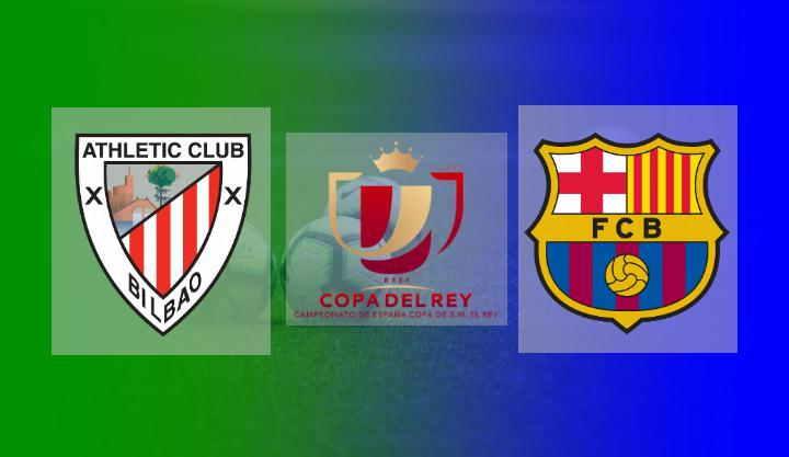 Hasil Athletic Bilbao vs Barcelona Skor Akhir 0-4 Final Copa Del Rey 2020-2021