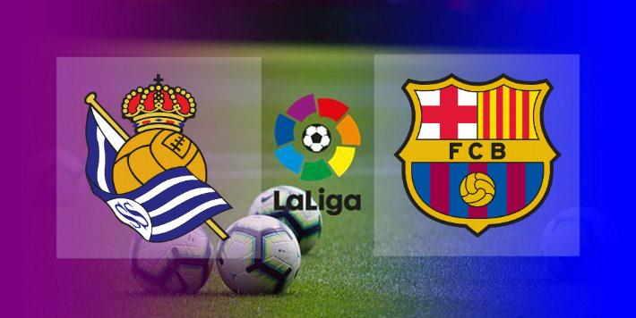 Hasil Real Sociedad vs Barcelona skor akhir 106