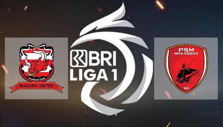 Hasil Madura United vs PSM Makassar Skor Akhir Imbang 1-1