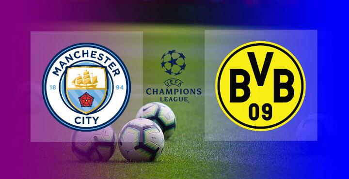 Hasil Manchester City vs Dortmund