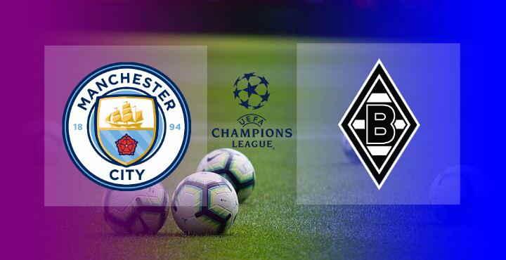 Hasil Manchester City vs Monchengladbach