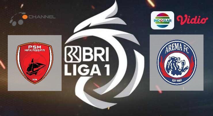 Hasil PSM Makassar vs Arema FC Skor Akhir Imbang 1-1