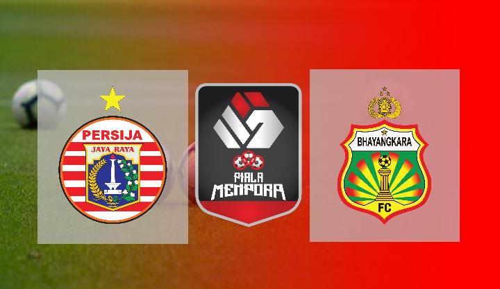 Hasil Persija vs Bhayangkara FC