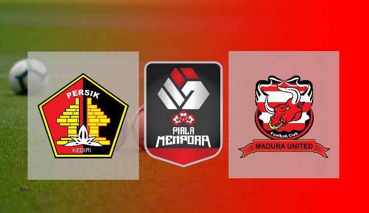 Hasil Persik Kediri vs Madura United