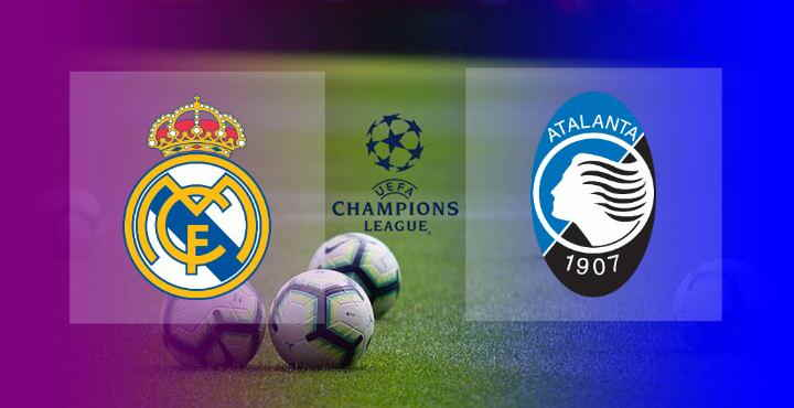 Hasil Real Madrid vs Atalanta