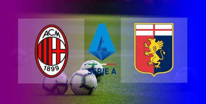 Hasil AC Milan vs Genoa