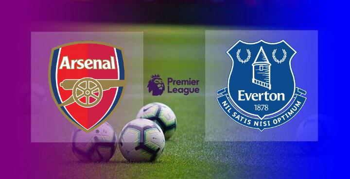 Hasil Arsenal vs Everton