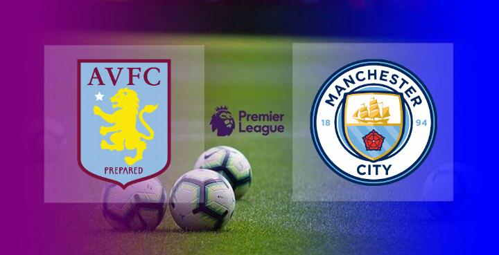 Hasil Aston Villa vs Manchester City