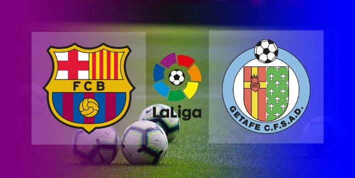 Hasil Barcelona vs Getafe