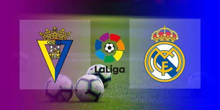 Hasil Cadiz vs Real Madrid
