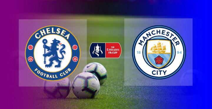 Hasil Chelsea vs Manchester City Semifinal FA Cup 2020-2021