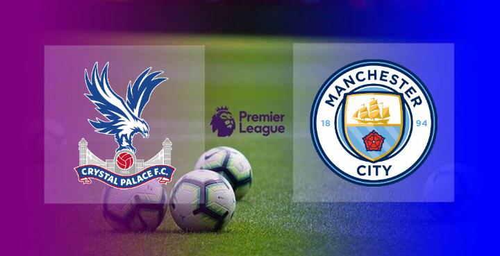 Hasil Crystal Palace vs Manchester City