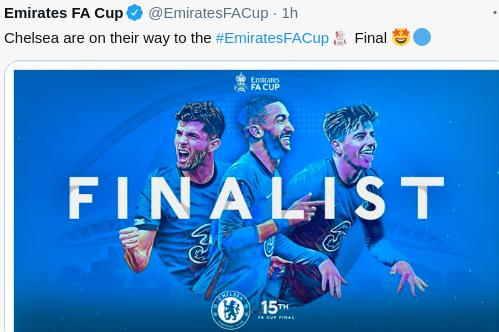 Chelsea ke Final FA Cup usai Menang 1-0 atas Manchester City