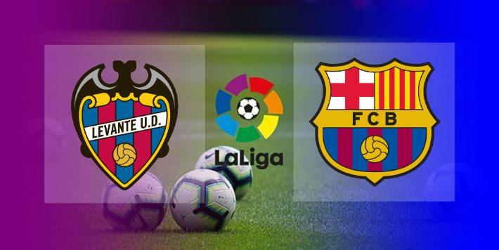 Hasil Levante vs Barcelona