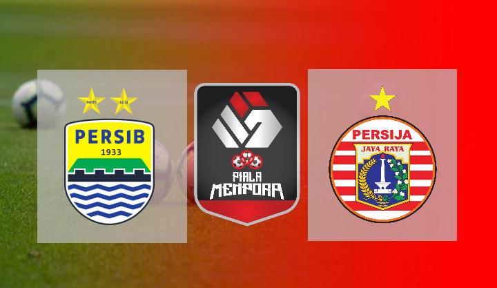 Hasil Persib vs Persija Leg 2 Final Piala Menpora