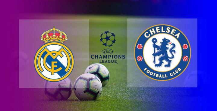 Hasil Real Madrid vs Chelsea Leg 1 Semifinal Liga Champions 2020-2021