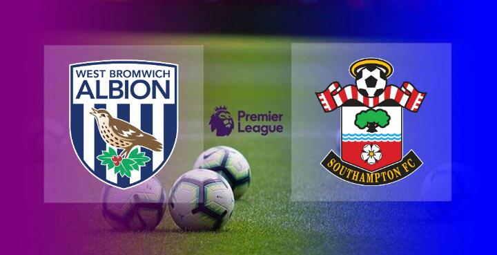 Hasil West Brom vs Southampton Skor Akhir 3-0