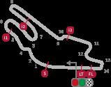 gambar sirkuit Le Mans Prancis