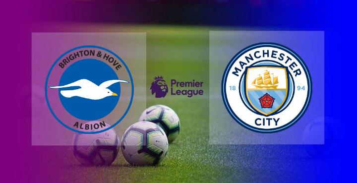 Hasil Brighton vs Manchester City Tadi Malam skor akhir 3-2