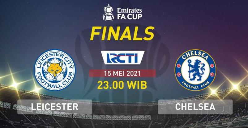 Final FA Cup 2020-2021 Gratis Live  di RCTI