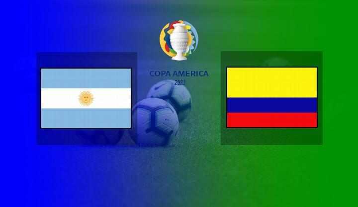 Hasil Argentina vs Kolombia Semifinal Copa America 2021