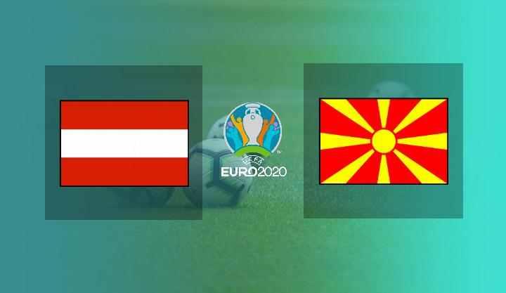Hasil Austria vs Makedonia Utara