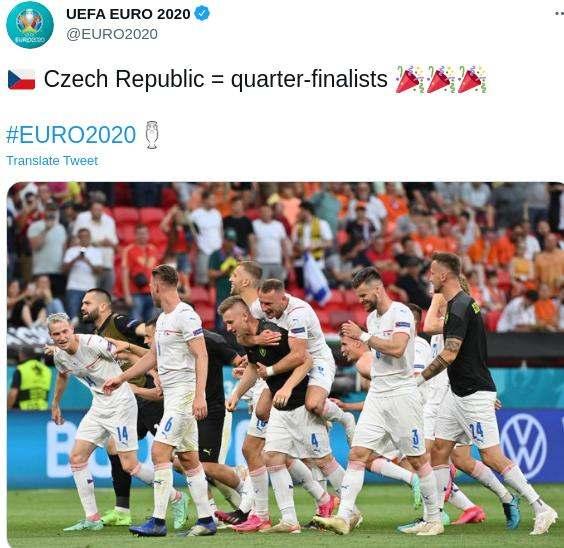 Belanda gagal ke permpat final