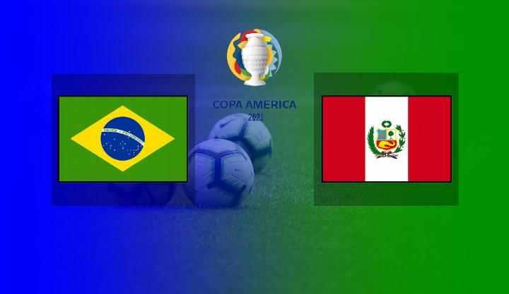 Live Streaming Brasil vs Peru di Semifinal Copa America 2021
