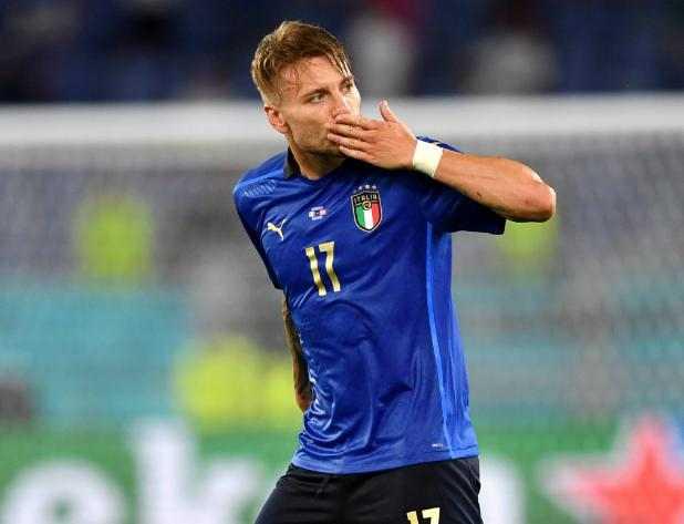 Ciro Immobile sumbang satu gol