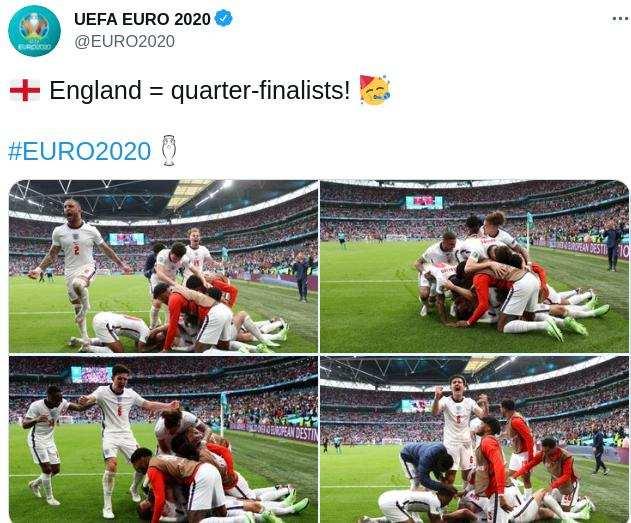 Hasil Babak 16 Besar EURO : Jerman Takluk di Tangan Inggris