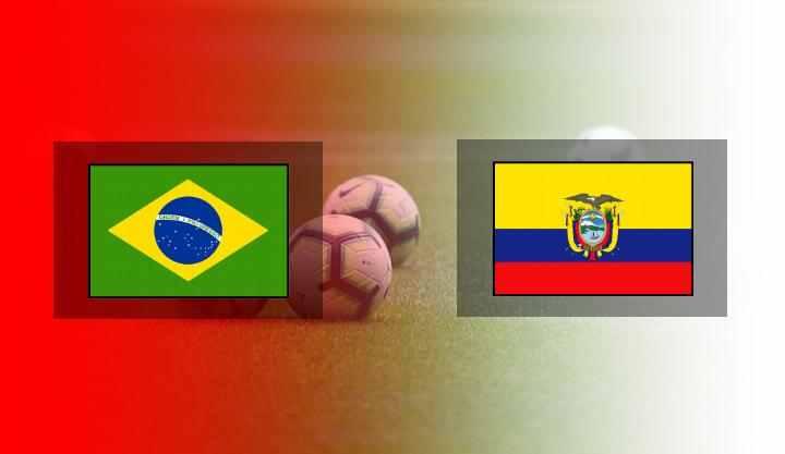 Hasil Brazil vs Ekuador