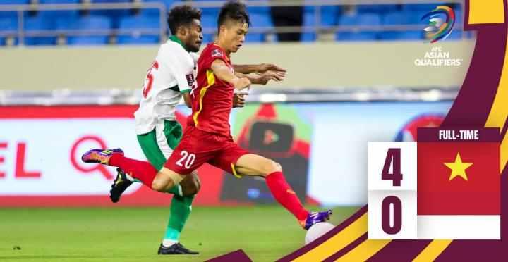 Hasil Vietnam vs Indonesia