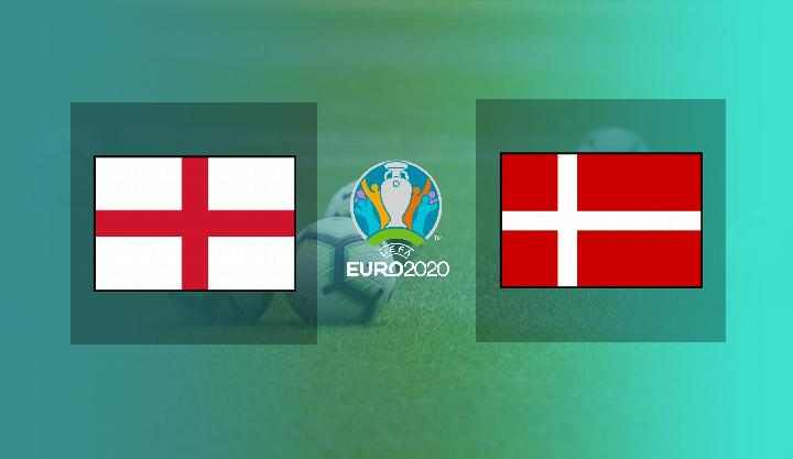 Hasil Inggris vs Denmark Semifinal EURO 2020 Skor Akhir 2-1