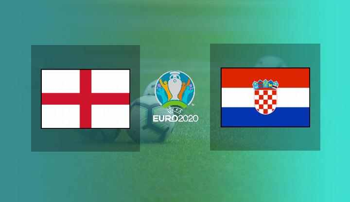 Hasil Inggris vs Kroasia Euro 2020