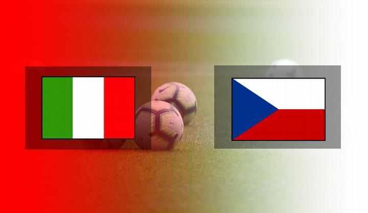 Hasil Italia vs Ceko
