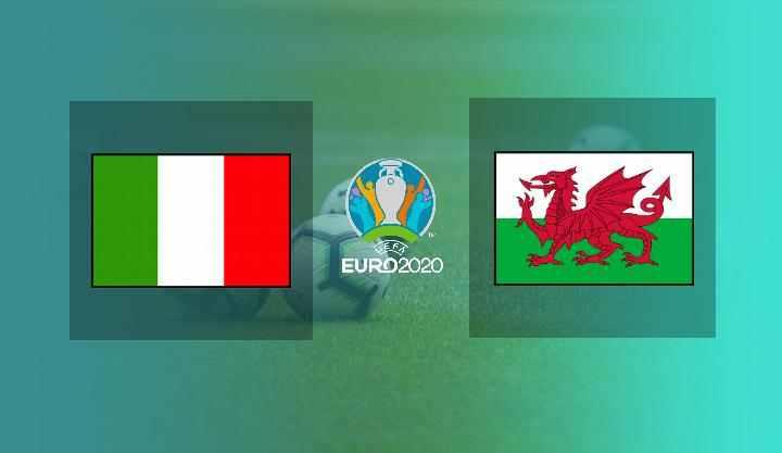 Hasil Italia vs Wales