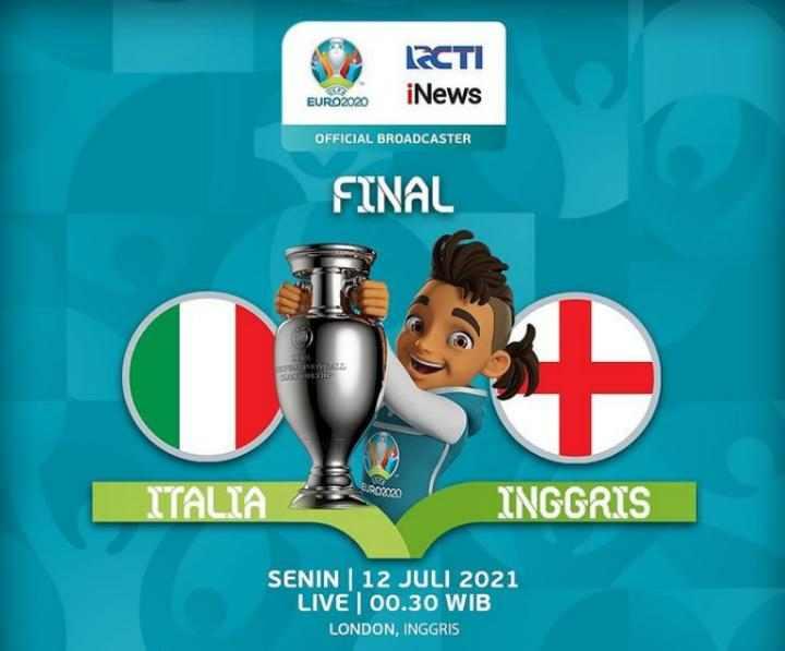 Jadwal Final Euro 2020