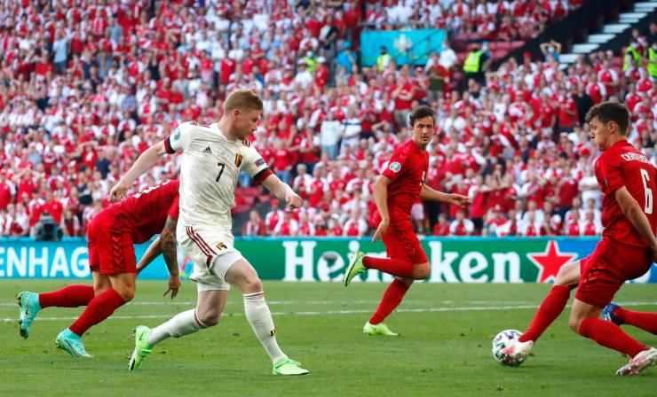 Kevin d bruyne sumbang 1 gol