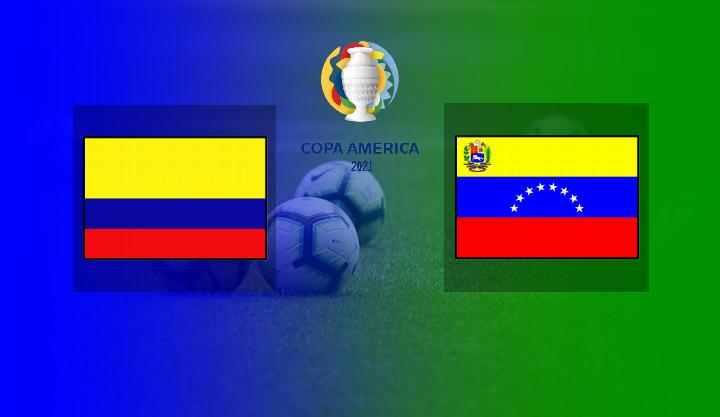 Hasil Kolombia vs Venezuela