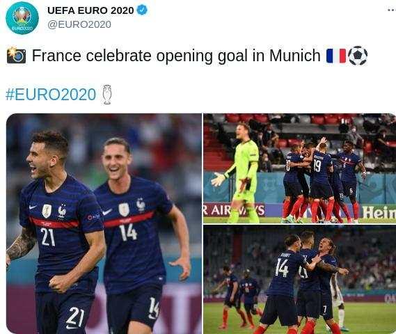 Perancis menang 1-0 atas Jerman