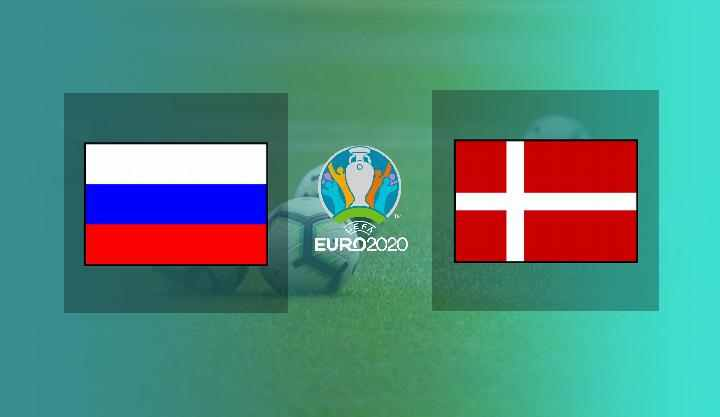 Hasil Russia vs Denmark
