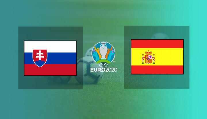 Hasil Slowakia vs Spanyol